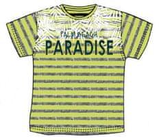 Carodel chlapecké tričko 140 zelená