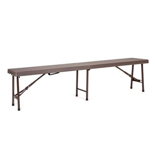 Happy Green zložljiva miza za vrt SARAVAK 183 x 30 x 44 cm