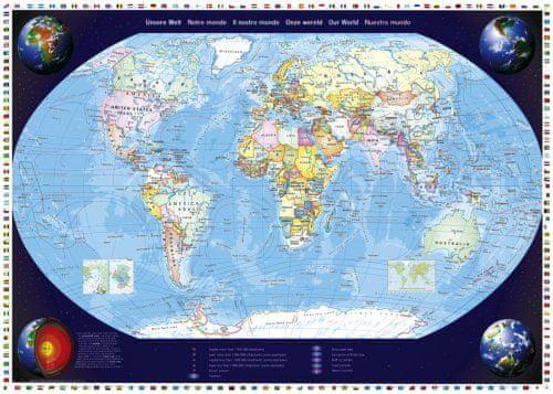 Schmidt Puzzle 2000 dílků Jigsaw Puzzle - 2000 dílků - Our World
