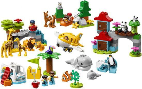 LEGO DUPLO 10907 Živali sveta
