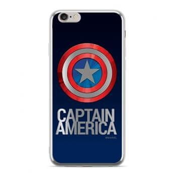 MARVEL Captain America 001 Zadní Kryt pro iPhone XS Max Silver MPCCAPAM084