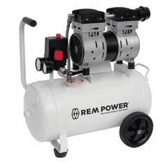 REM POWER klipni kompresor EL 150/8/24, tihi