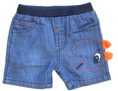 Carodel chlapecké šortky 68 modrá