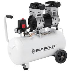REM POWER batni kompresor EL 200/8/40, tihi