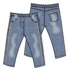 Carodel chlapecké jeansy 68 modrá