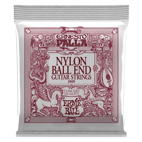 Ernie Ball 2409 Ernesto Palla Nylon Classical Black & Gold Ball End struny na klasickou kytaru