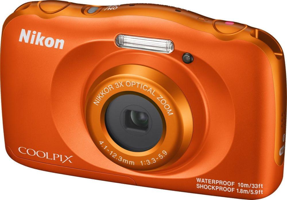 Nikon Coolpix W150 Orange Backpack Kit