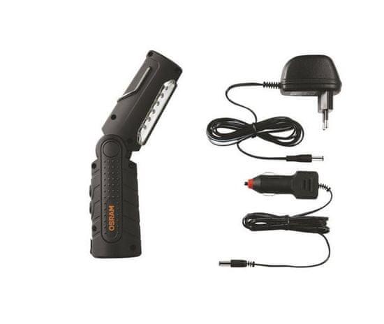 Osram LED inspekční svítilna, LEDinspect, s polohováním, dobíjecí, 21 + 5 diod