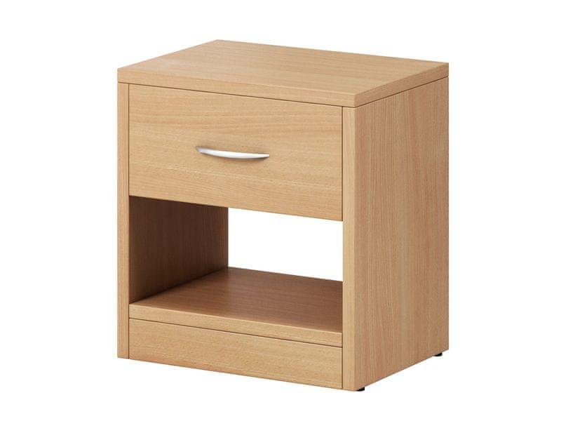 Noční stolek NEA 1S, buk