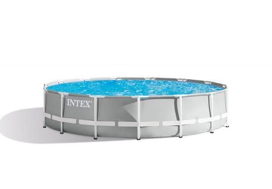Intex bazen Prism Frame, 457 × 107 cm, s filter črpalko, z lestvijo, 26724NP