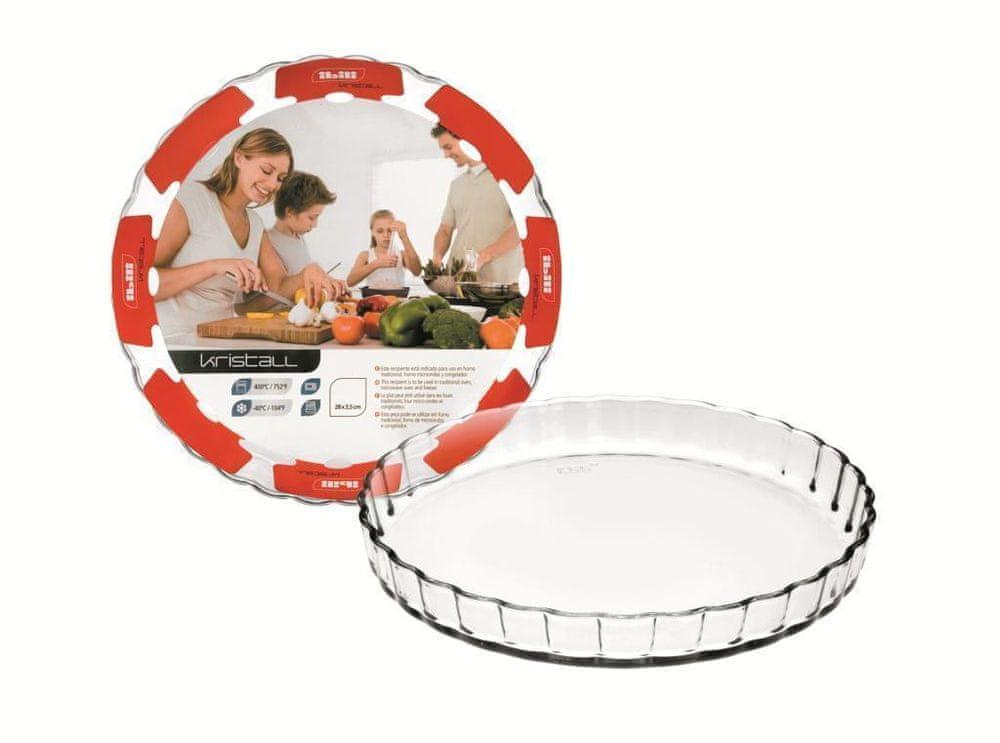Ibili Forma na koláč skleněná 28x3,5cm