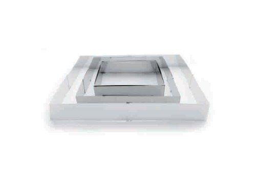 Ibili Rozkládací forma na dort - ráfek čtverec 20x24 - 38x46cm