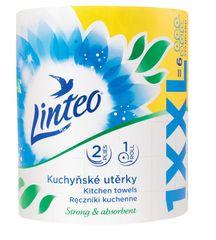 LINTEO ręczniki kuchenne LINTEO XXL - dwuwarstwowe, 1 rolka