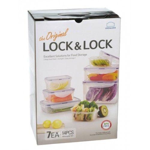 Lock&Lock Dóza na potraviny set 7 ks