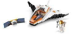LEGO City 60224 Vzdrževanje vesoljskih satelitov