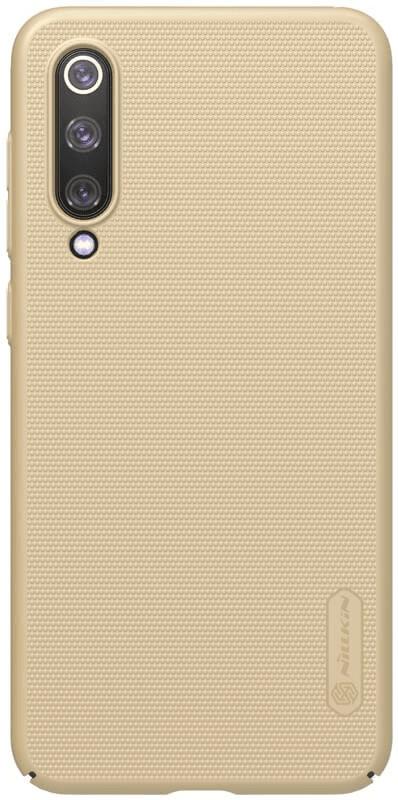 Nillkin Super Frosted Zadní Kryt pro Xiaomi Mi 9 SE 2445696, zlatá