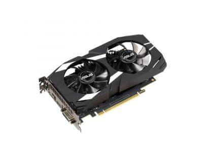 Asus grafična kartica GeForce GTX 1650 DUAL OC, 4GB GDDR5, PCI-E 3.0