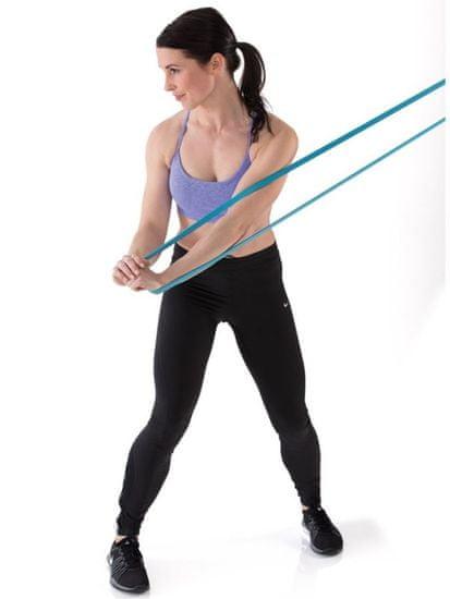 Gymstick močna elastična zanka Active Light, svetlo modra