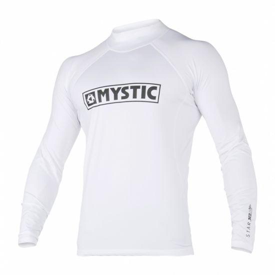 Mystic Star LS Lycra majica, bela