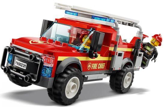 LEGO City 60231 Poveljstvo za gasilce