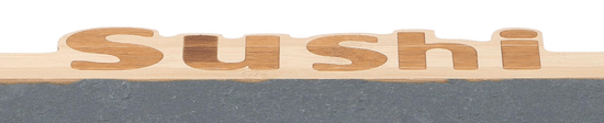 TimeLife sushi set, 7 dijelova, 30 x 16 cm