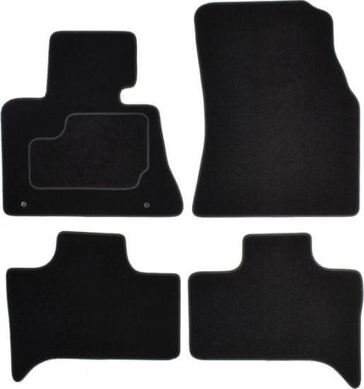 MAMMOOTH Koberce textilní, BMW X5 (E53) 1999-2007, černé, sada 4 ks