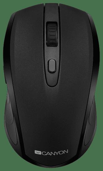 Canyon mysz komputerowa CMSW08, czarna (CNS-CMSW08B)