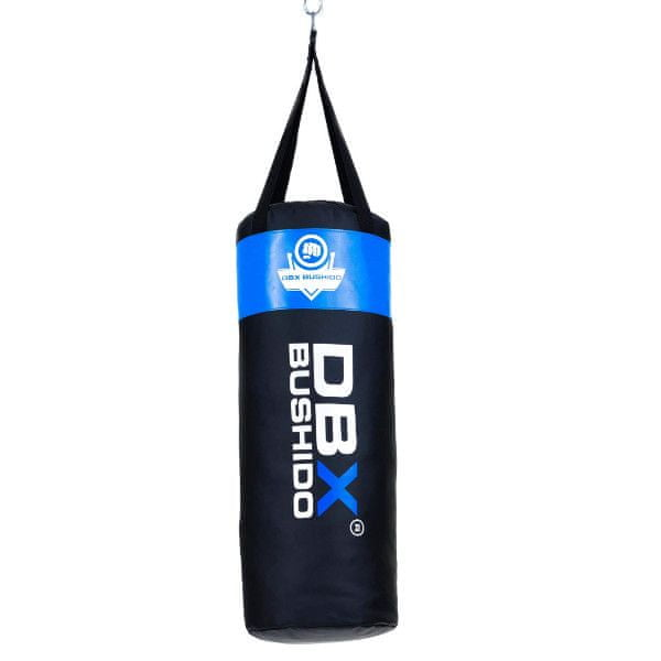 DBX BUSHIDO Boxovací pytel pro děti 80/30 cm, 15 kg, modrý