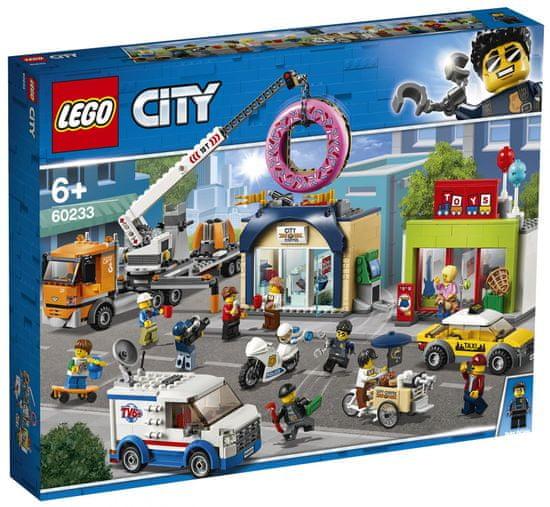 LEGO City 60233 Odpiranje trgovine s krofi
