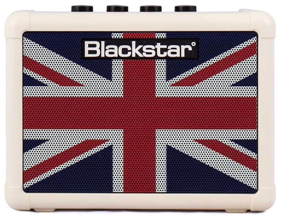 Blackstar FLY 3 Mini Amp Cream Union Jack Limited Edition Kytarové tranzistorové kombo