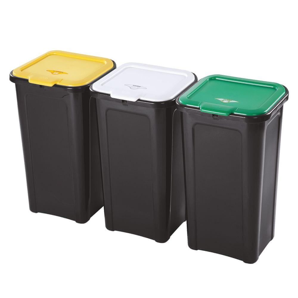 Tontarelli Koš na tříděný odpad 3x44L