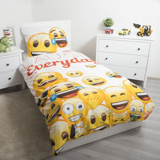 Jerry Fabrics otroška posteljnina Emoji 2 13