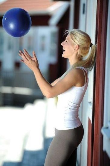 Sissel žogica Pilates Soft Ball