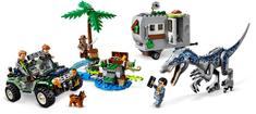 LEGO klocki Jurassic World 75935 Spotkanie z Baryonyx: Poszukiwanie skarbów