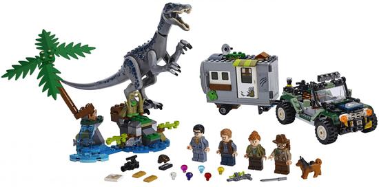 LEGO Jurassic World 75935 Baryonyxom: Srečanje