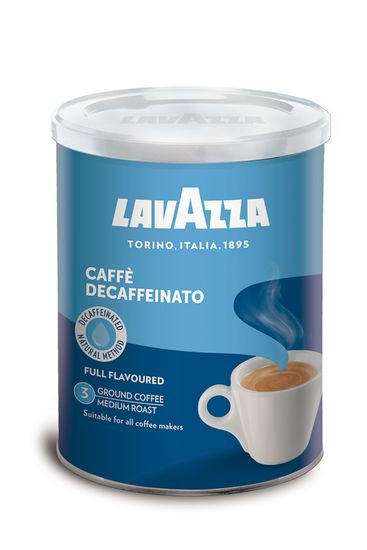 Lavazza DEK Decaffeinato mletá káva 250g