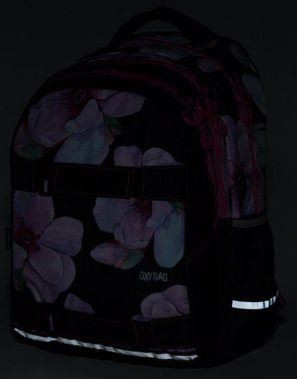 Karton P+P anatomski nahrbtnik OXY One Floral, motiv rož