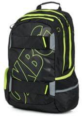 Karton P+P anatomski nahrbtnik OXY SPORT Black Line, zelen