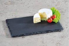 Kesper Obdélníková břidlicová deska na servírování jídla, malá