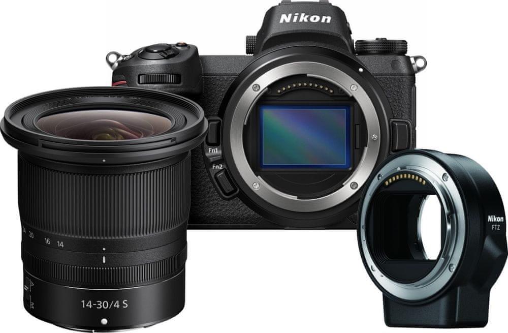 Nikon Z6 + 14-30 mm + FTZ Adapter Set (VOA020K005)