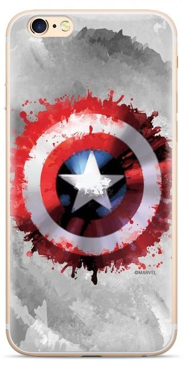 MARVEL Captain America 019 Zadní Kryt pro Samsung G975 Galaxy S10 Plus Grey MPCCAPAM7005 - rozbaleno