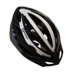 Master Cyklo přilba Force - M - černo-bílá