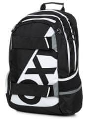 Karton P+P anatomski ruksak OXY SPORT Neon Line B&W