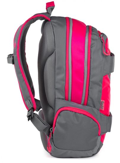 Karton P+P Anatomický batoh OXY SPORT Neon Line Pink