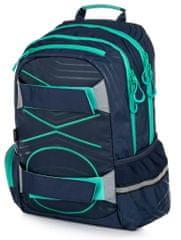 Karton P+P anatomski ruksak OXY SPORT Pastel Line Blue, plava