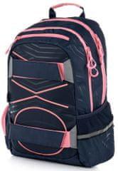 Karton P+P Anatomický batoh OXY SPORT Pastel Line Pink