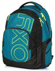 Karton P+P nahrbtnik OXY Style, modra/zelena
