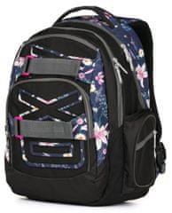 Karton P+P Študentský batoh OXY Style Flowers