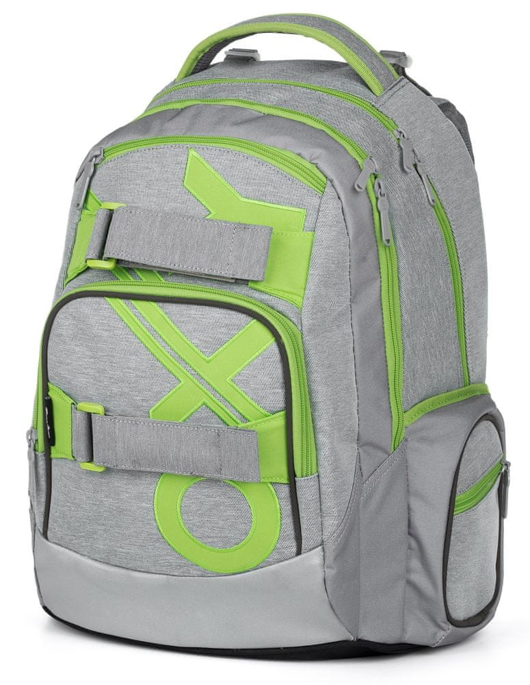 Karton P+P Školní batoh OXY MINI Style Green