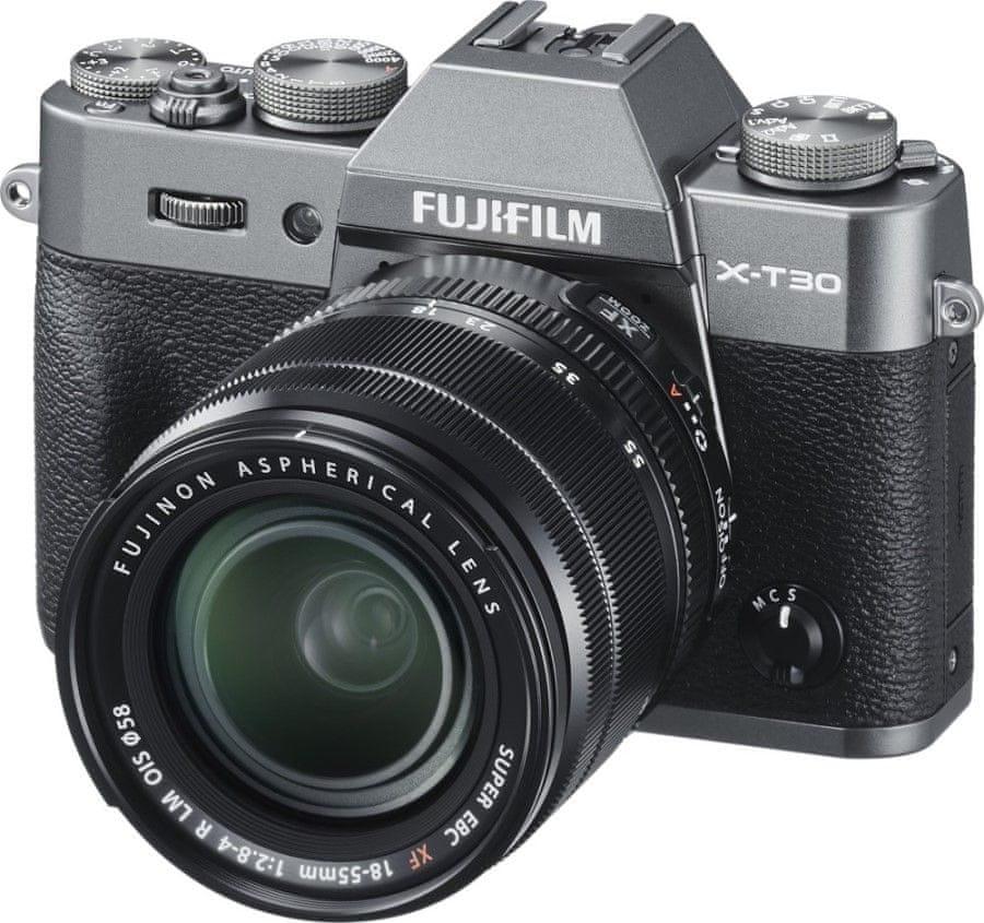 FujiFilm X-T30 + XF 18-55 mm Grey